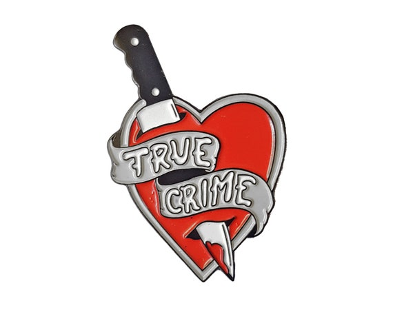 True Crime - Enamel Pin