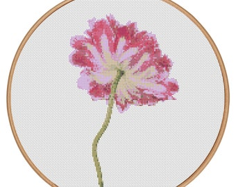MORE for FREE - Spring Flower - Counted Cross stitch pattern PDF - Instant Download - Cross Stitch Pattern - Flowers-Love- Needlepoint #1502