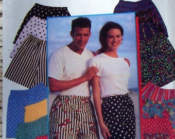 1994 Pattern Simplicity 9057 XXS-XL shorts for men and women  and it Looks to be an easy pattern to follow instructions included
