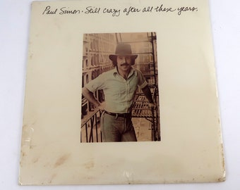 Paul Simon Still Crazy After All These Years Vinyl LP Record Album PC 33540 New