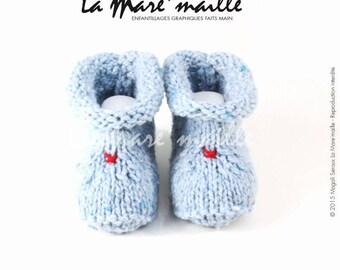Baby Blue shetland tweed wool sky to look rustic classy La Mare' mesh