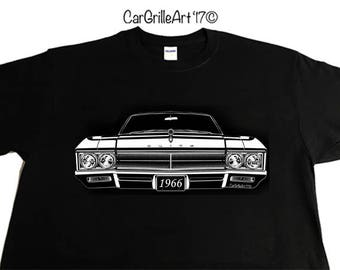 Car Grille Art - 1966 Buick Wildcat - Front Grill T-Shirt