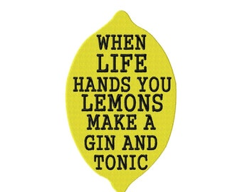When Life Hands You Lemons FILL Machine Embroidery DESIGN NO. 56