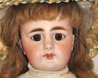 "17"" S&H 939 BELTON Doll, Antique German Bisque"
