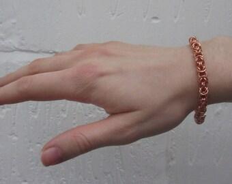 """Copper """"Byzantine"""" bracelet"""