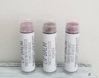 Tinted Lip Balm All Natural