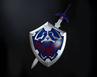 Legend of Zelda - Hylian Shield & Master Sword