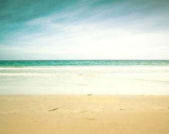 nautical decor beach photography ocean 8x10 8x12 fine art photography pastel coastal prints seaside photography vintage look beach wall art