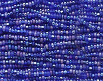 Blue Moon Mix Czech Seed Beads size 11/0 lot of 20 grams