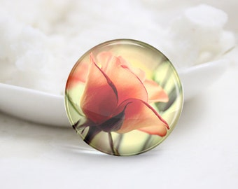 10mm 12mm 14mm 16mm 18mm 20mm 25mm 30mm Flower Handmade Round Photo glass Cabochons (P2798)