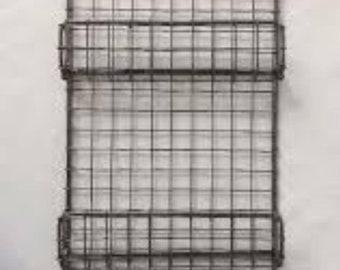 Vintage mail rack