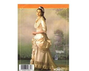 SALE Misses Victorian Bridal Gown Simplicity 4244 Sewing Pattern Size 14 - 16 - 18 - 20 Bust 36 - 38 - 40 - 42 UNCUT