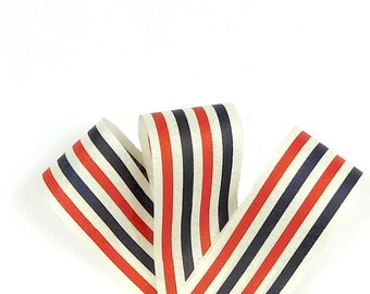 July 4 Ribbon, July 4 Decor, 4th Of July Ribbon, Patriotic Ribbon, Red White Blue Ribbon, Nautical Ribbon, Ribbon For July 4, July 4 Bow