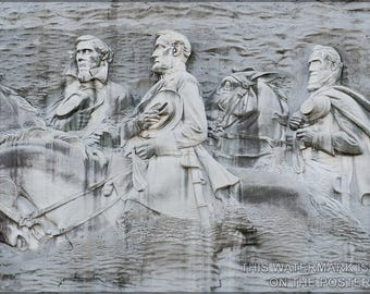 Poster, Many Sizes Available; Stone Mountain