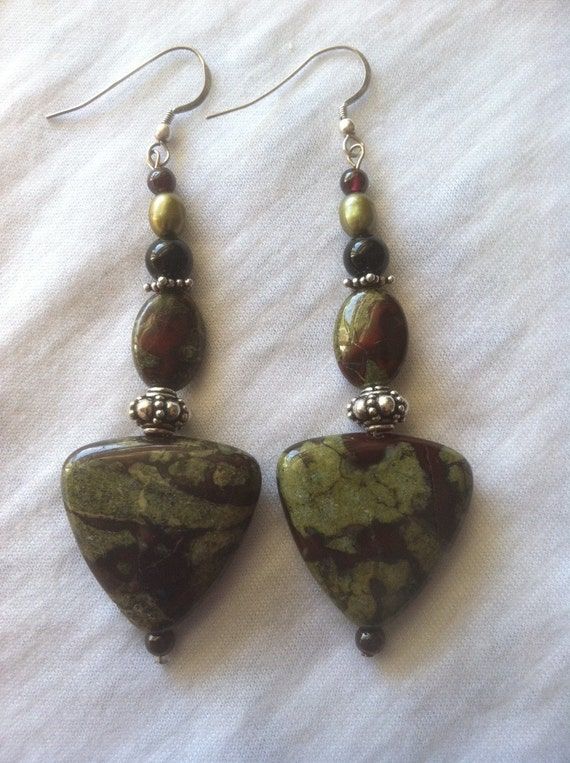 arden olive design earrings jasper jewelry p product red and jade earring