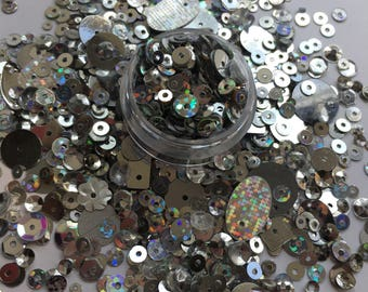 Silver Sequin Mix