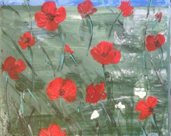 """Painting """"Poppies"""""""