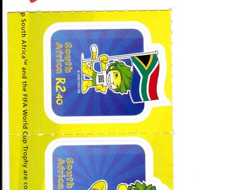South African 2010 World Cup Soccer Stamps - Free Shipping