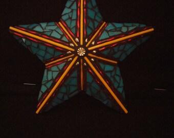 Mosaic Metal Star