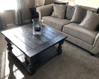 Farmhouse Coffee Table   Rustic Coffee Table   Farmhouse Furniture   Living  Room Table   Wood