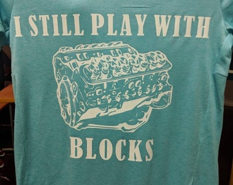 I still play with blocks