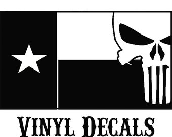 Texas Blessed VINYL DECALS
