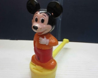 Whole Shop on Sale Vintage Mickey Mouse Bubble Blower Toy