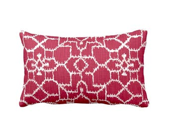Red Throw Pillow Cover Red Pillow Cover Red Lumbar Pillow Cover 12x16 12x18 12x20 12x22 12x24 Pillows Red Pillow Sham Red Pillowcase