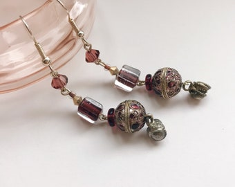Amethyst Ice earrings