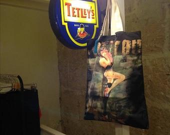 Sustainable fashion handbag
