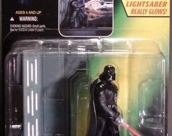 1997 Kenner Star Wars Power Of The Force Electronic Darth Vader New In Package