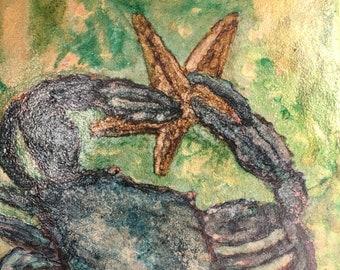 Blue Crab Trivet