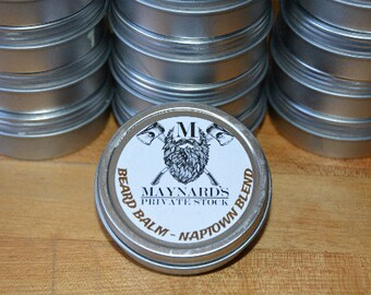 Beard Balm - Naptown Blend (Coffee scented beard balm) top selling items, hair growth products, self care, beard balm kit, most popular item