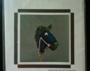 Vintage Hobby Horse Pattern by Fabricraft