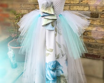 Flower Girl Tule and satin dress