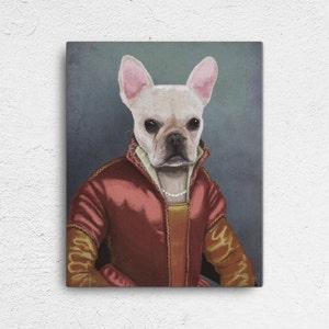 Custom Pet Portrait, pet portraits, Regal Pet Portrait, Renaissance Pet Portrait, royal pet portrait, unique gifts, funny gifts, dog art