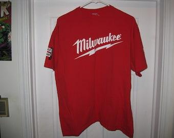 vintage Milwaukee power tools t-shirt