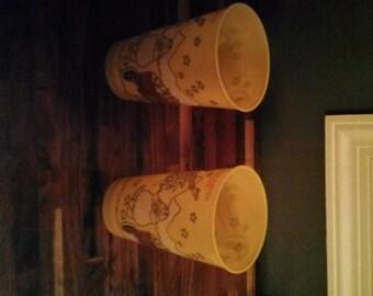 Ronald McDonald plastic tumbler cups
