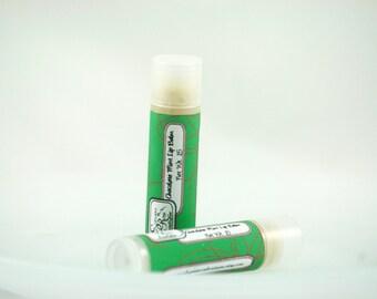 Chocolate Mint Lip Balm, Natural Lip Balm, Essential Oil Lip Balm