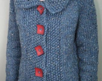 Classic Chunky Wool Cardigan