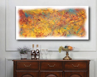 Abstract Art, Modern Art, Original Print, by Abstract Expressionist C.H.Webster