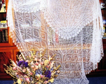 The Unst Bridal Shawl pdf ~ Heirloom Knitting ~ Sharon Miller