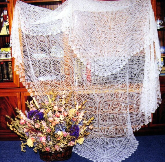 The Unst Bridal Shawl Pdf Heirloom Knitting Sharon Miller