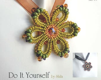 Step by step INSTANT download Pdf beading PATTERN #35/