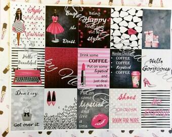 So Pretty Sticker set