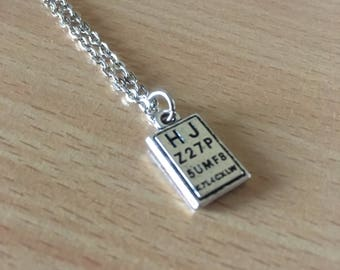 Optician Necklace, Eye Test Chart Necklace, Optician Jewelry, Optometrist Necklace, Eye Doctor Accessories, Optician Graduate Gift