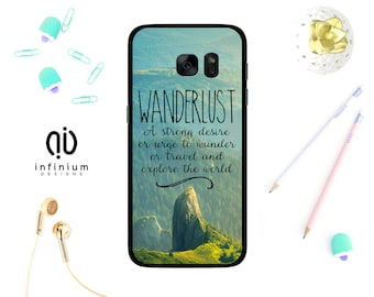 Wanderlust Case For Samsung S9, iPhone X, iPhone 8, 8 Plus, iPhone 7, iPhone 6S, 5S, Samsung S9 Plus, Samsung S8, S8 Plus & Samsung J5
