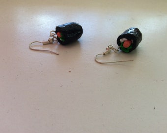 Sushi earrings with FREE shipping!