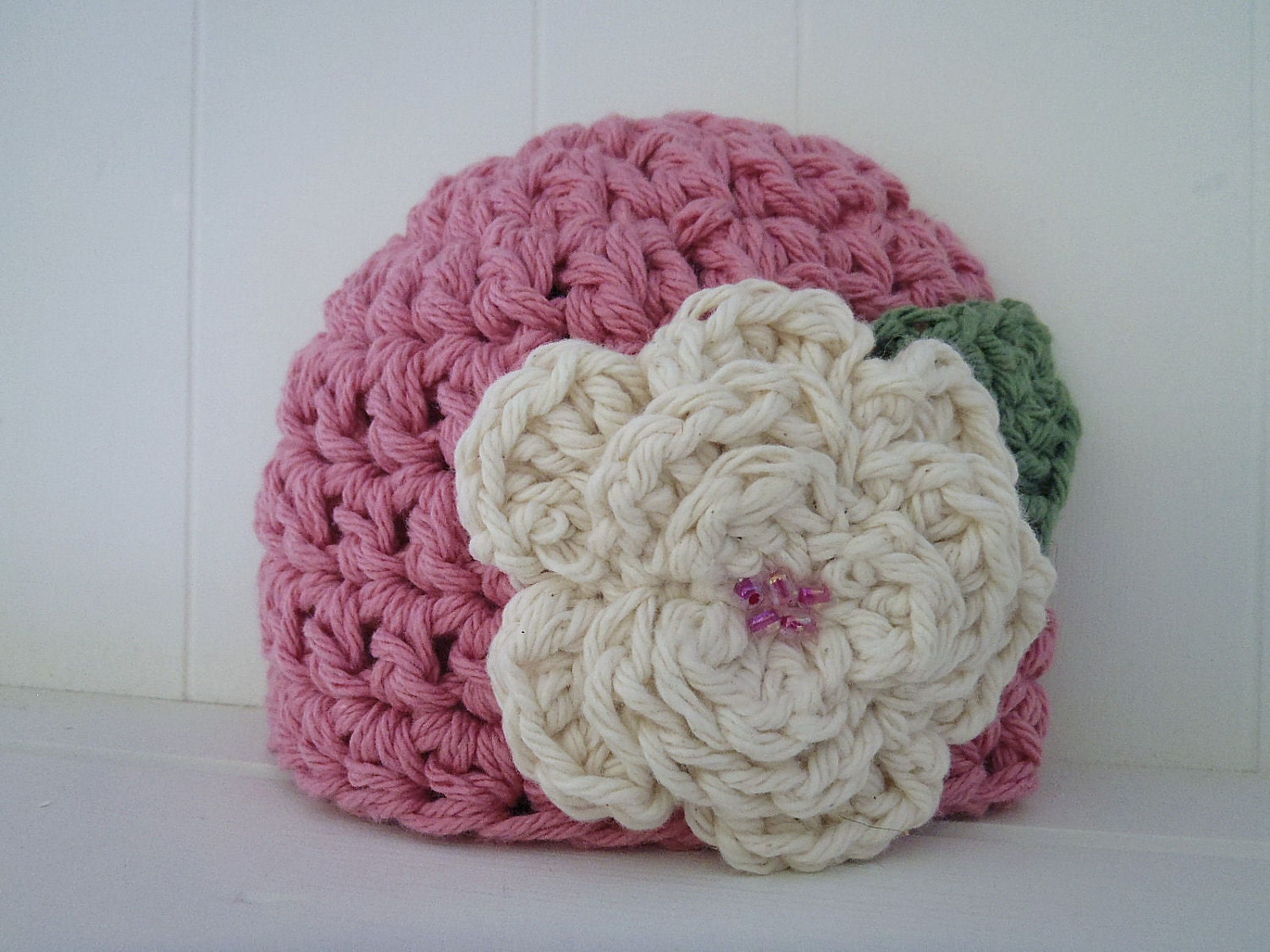 Crochet Pattern - Chunky Basic Beanie Hat (Newborn to Adult) with ...