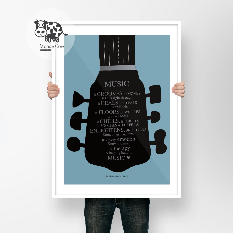 Music Prints Music Art Music Lover Gift Music Lover